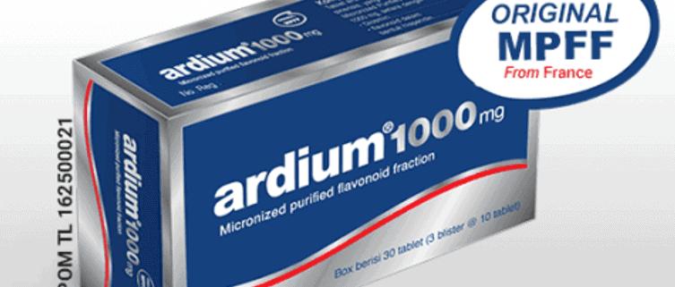 ardium 1000mg membantu meringankan ambeien wasir